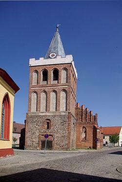 Lieberose Stadtkirche