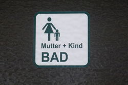 Mutter + Kind Bad