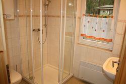 Badezimmer im Ferienhaus Alt Zauche