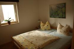 Ausruhen im Schlafzimmer des Ferienhauses Schwielochsee