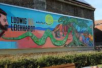 Wandbild in Trebatsch